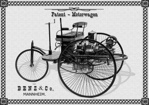 first mercedes benz car