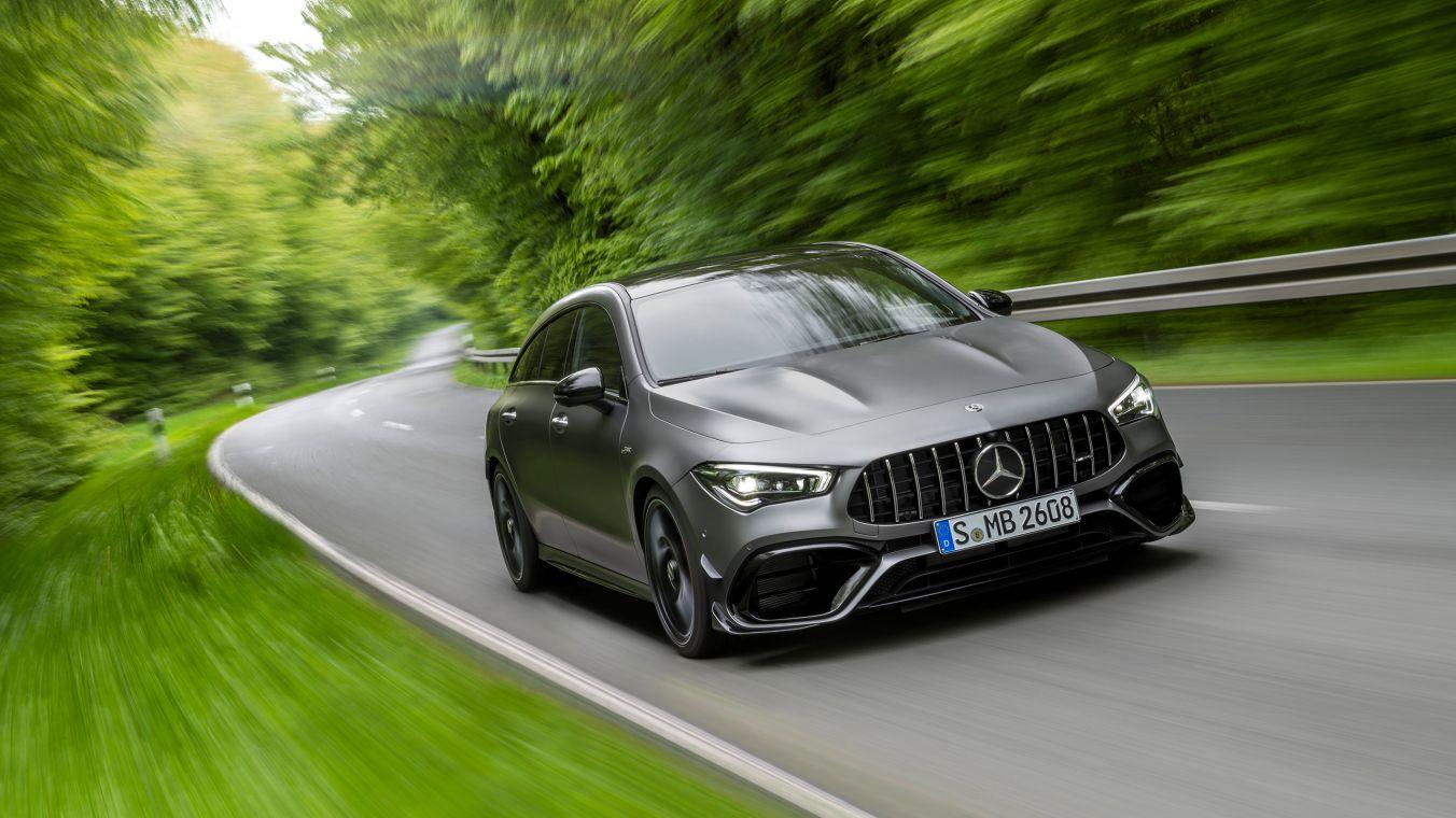 The new Mercedes-AMG CLA 45 4MATIC+ Shooting Brake ...